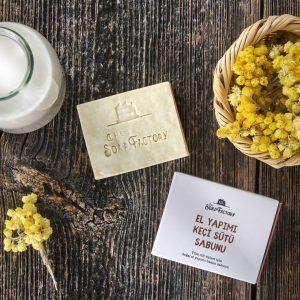 El Yapımı Keçi Sütü Sabunu 110 gr