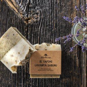 El Yapımı Lavanta Sabunu 100 gr